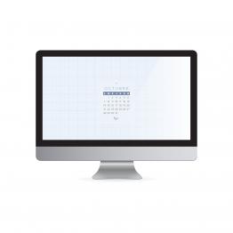 Studio zazen. Fondo de pantalla Zazen descargable gratuito con calendario de Octubre incorporado