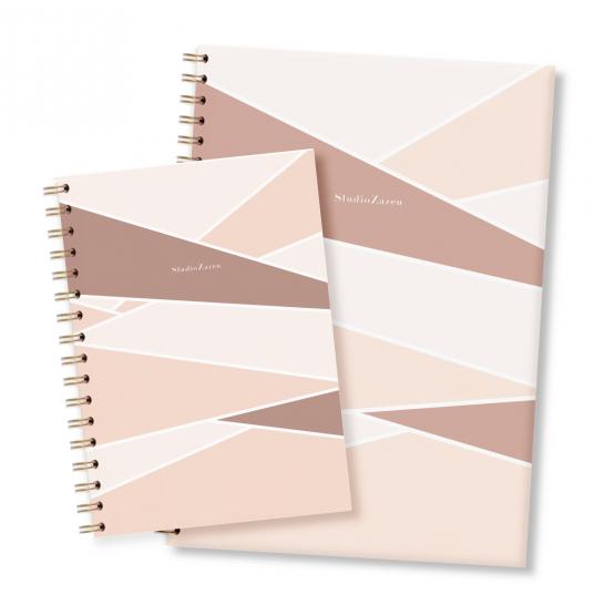 Libreta A4 y A5 Papel Ecológico Studio Zazen Zaha Hadid