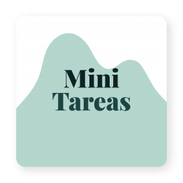 Producto Mini Tareas de Studio Zazen